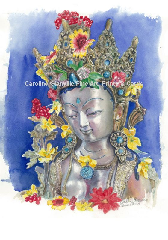 Buddhist image of Tara